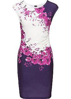 Floral Print Shift Dress Freemans