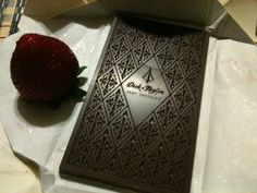 My first Dick Taylor chocolate bar! <3