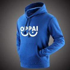 One Punch Man Oppai Hoodie - 5 Different Colors