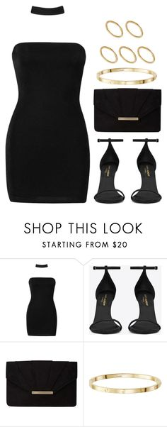 """Sin título #12388"" by vany-alvarado ❤ liked on Polyvore featuring Boohoo, Yves Saint Laurent, Dorothy Perkins and Made"