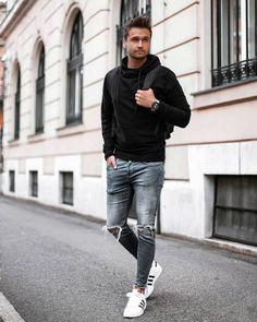 Mens Fashion Sweaters, Mens Fashion Suits, Mens Suits, Look Man, Mens Fall, Autumn Fashion, Fashion Black, Style Fashion, Fashion Tips