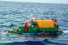 Truck Boat? #OddBoats