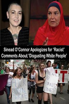 Sinead O'Connor Apologizes for 'Racist' Comments About 'Disgusting White People' Irish Singers, Baby Dress Design, Anxiety Causes, Colorful Eye Makeup, Embarrassing Moments, Family Outing, Scary Stories, White People, New Pins