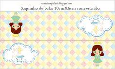 Casinha de Criança: kit Festa Batizado Menina Para Imprimir Grátis