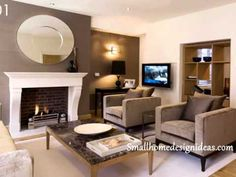 Living Room Accent Wall Design Ideas Pictures Remodel And Decor