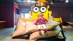 Deni had fun at indoor playground with cartoon characters Bob the Builder and Fireman Sam. This indoor playground is in Mattel Play Liverpool. INSTAGRAM http...