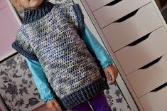 DIY: Jednoduchá háčkovaná vesta pro malé frajerky