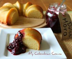 My Colombian Cocina - Postres Colombian Cuisine, Colombian Culture, Colombian Recipes, Sweet Recipes, Cake Recipes, Dessert Recipes, Bread Cake, Bread And Pastries, Latin Food
