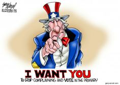 VOTE! | May/6/14 Political Cartoons