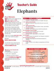 This 12-page Teacher Guide on Kids Discover Elephants will help you teach kids all the most important facts and information about these incredible animals. Help them explore elephants past and present, discover their amazing physical features, and learn about efforts around the world to help save this incredible species.