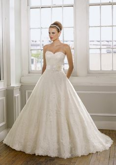 Bridal Gown From Mori Lee By Madeline Gardner Style 1612