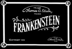 Frankensteinia: The Frankenstein Blog: Repost: The First Frankenstein of the Movies