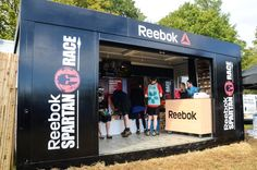 Rapid Retail's leading the field in providing facilities for some of the most popular sports events including a Reebok sales unit for the Spartan Races.