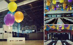 55-cm-ballonger till eventdekor.