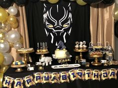 Khadija A's Birthday / Black Panther - Photo Gallery at Catch My Party 5th Birthday Party Ideas, Safari Birthday Party, Birthday Party Decorations, Birthday Parties, Twin First Birthday, Boy Birthday, 50th Birthday Centerpieces, Black And White Balloons, Black Panther Party
