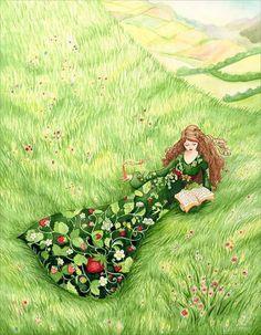The Wisdom of Nature - Illustration by Audrey Ficociello