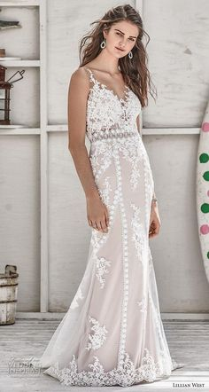 dd124771db Lillian West Spring 2019 Wedding Dresses. Vestidos De Novia ...