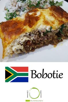 Zuid Afrikaanse Bobotie Cheesesteak, Lasagna, Sandwiches, Pizza, Ethnic Recipes, African Style, Jets, Food, Plating