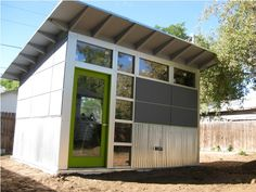 colors + windows. Photo Gallery - Studio Shed   Modern Shed - Storage Shed - Office Shed