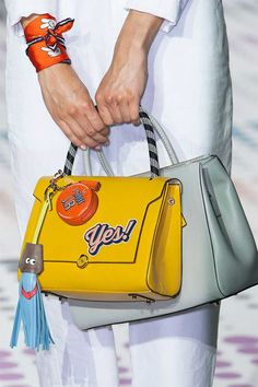 Best Catwalk Bags of LFW S/S 2015 | Anya #Hindmarch #yes #bag))