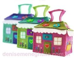 felt house storage by sharon.smi