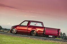 Michael Ellard's Holden Rodeo Minitruck by HoskingInd Transportation Photography #InfluentialLime
