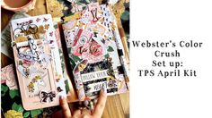 Webster's Pages Color Crush Traveler's Notebook Setup and Flip Through