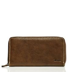Zip Around Clutch Vintage Tribe Leather   Women's Wallets Accessories   Roots  #RootsBacktoSchool