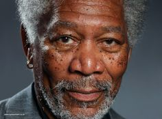 This Insanely Realistic Drawing of Morgan Freeman Was Finger Painted on an iPad – Enpundit