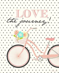Love the Journey free printable | Four colors to choose from at the36thavenue.com