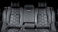 A Kahn Design Unveils its 2013 Range Rover Vogue Interior Package Custom Car Interior, Car Interior Design, Interior Trim, Car Seat Upholstery, Automotive Upholstery, Bike Seat, Car Seats, Tactical Seat Covers, Range Rover Vogue