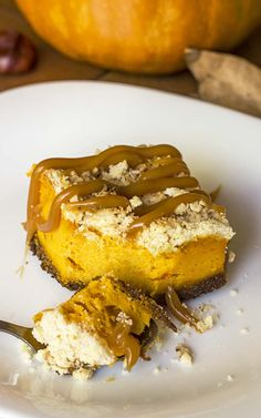 Pumpkin Cheesecake Bars with Gingersnap Crust | www.cakescottage.com ...