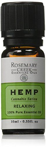 Rosemary Creek Hemp Essential Oil from Cannabis Sativa plant, 0.33 fl. oz. //Price: $22.9 & FREE Shipping //     #hashtag4