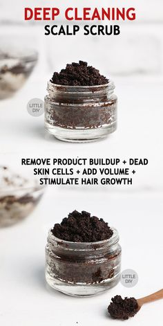 DEEP CLEANING SCALP SCRUB - Coffee is an amazing beverage but limiting it just as a beverage is not a good idea. Coffee is not only good for health but it's also good for beauty. Yes, coffee is a wonderful READ MORE… - Hair Scrub, Scalp Scrub, Healthy Hair Tips, Healthy Hair Growth, Natural Beauty Tips, Natural Hair Care, Beauty Care, Beauty Hacks, Diy Beauty