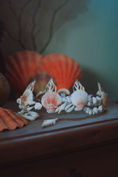 please note: the current made to order time frame is 6 weeks ☾ ☆☽ A dainty and delicate seashell crown for those who are looking for a subtle way to embrace their mermaid life. Measures about 3 inches