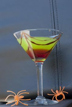 Midori Spider's Kiss Halloween Cocktail