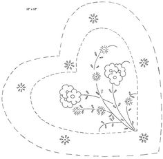heart shape pillow a | da love to sew