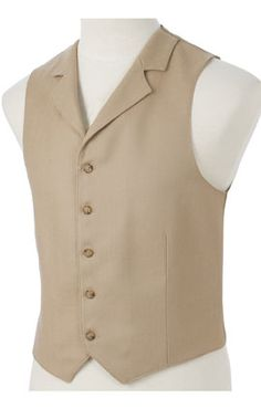 Mens Tan Herringbone with Collar