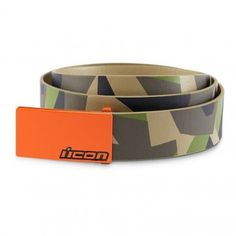 Icon Racing Deployed Casual Mens Accessories Street Bike Adjustable Belts