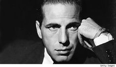 "Humphrey Bogart. ""There, there, Humphrey, let's forget about it.....focus on something outside of the film."""