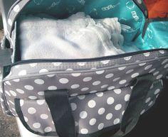 Dicas para organizar mala para a maternidade