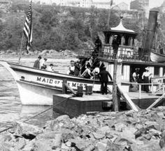 Here's a look into the history of the Maid of the Mist and the future of Niagara Falls tourism with the new addition of the Hornblower Niagara Cruises in 2014. #maidofthemist #niagarafalls  http://www.cliftonhill.com/falls_blog/farewell-maid-of-the-mist-a-voyage-into-history/