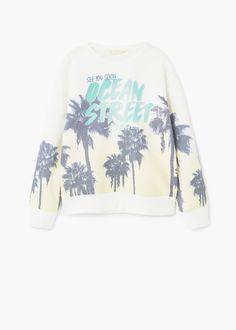 Sweater image imprimée | MANGO KIDS