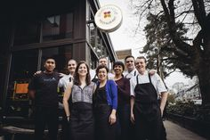 """So proud and inspired by the people I work with. ‪#‎oneteamonedream‬"" - Chef Joseph Bollag"