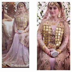 """""""Beautiful Ayesha looks ravishing wearing Sobia Nazir - arms detail"""