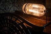 Fritz Fryer Aston Lantern Table Lamp Retro Lighting, Antique Lighting, Industrial Lighting, Modern Industrial, Modern Lighting, Glass Pendant Light, Pendant Lighting, Chandelier, Piano