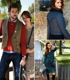 Brit Chic: 12 Women and Men's Patterns