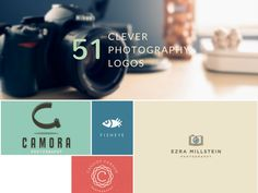 51 Clever Camera and Photography Logo Designs http://inspirationfeed.com/inspiration/logo-inspiration/51-clever-camera-and-photography-logo-designs