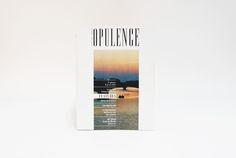 'Opulence' - Magazine design by Ellis Hong, via Behance