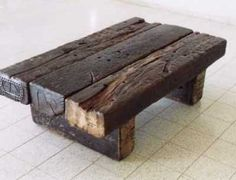 Use up that old lumber...